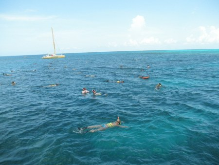 Snorkeling in Montego Bay, Jamaica