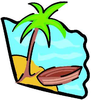 Palm tree clipart and boa