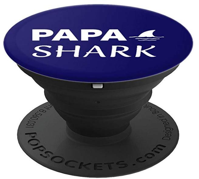 Papa Shark PopSocket