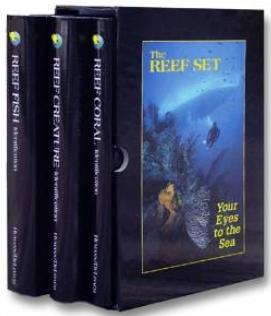 3 volume set of reef books