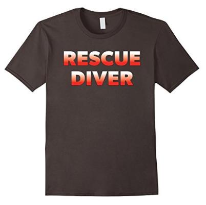 scuba diving rescue diver tshirt