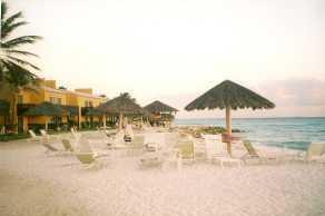 Our hotel - the Tamarijn in Aruba