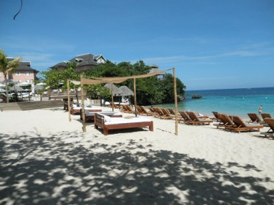 Jamaica beach club, Sandals Grande Riviera, Jamaica