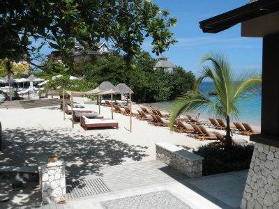 beach club at sandals grande riviera, jamaica