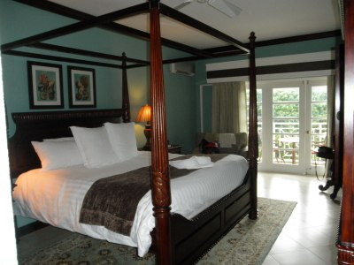 Our room at Sandals Grande Riviera, Jamaica