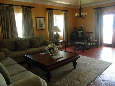 Living room of Prime Minister suite at Sandals Montego Bay