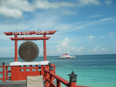 Tokyo Joe's restaurant at Sandals Montego Bay Bay Jamaica