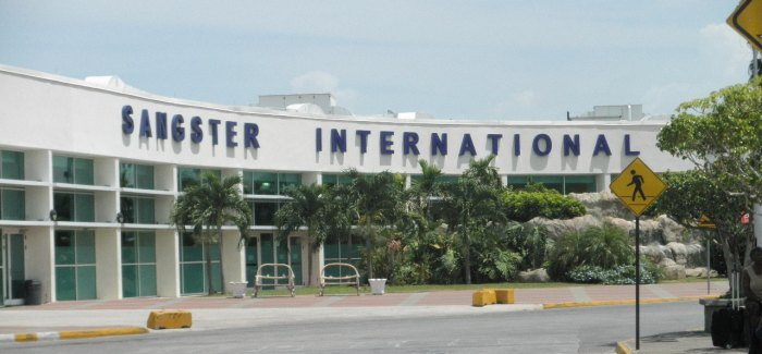 Sangster International Airport in Montego Bay, Jamaica