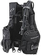 A scuba diving BCD - jacket style