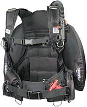A scuba bcd wing style