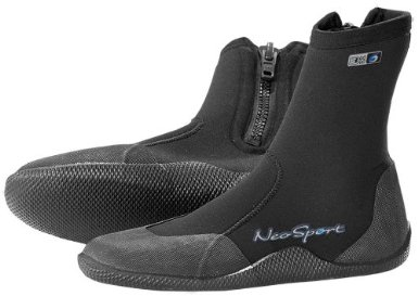 3mm high top scuba booties
