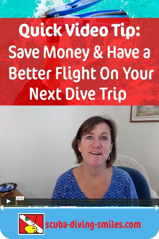 scuba diving travel video tip