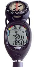 Scuba diving computer andcompass