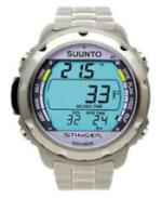A scuba diving computer - wrist style