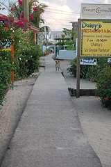 scuba diving belize placencia - sidewalk