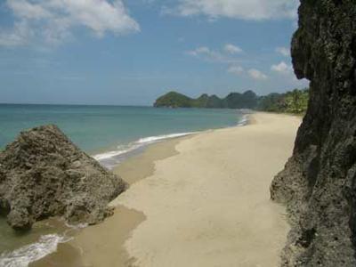The beach at Takatuka