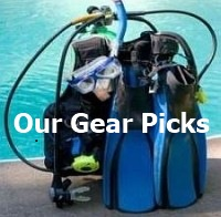 Our picks for best scuba diving gear in all categories.