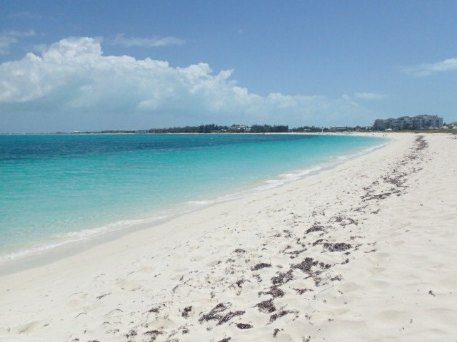 Grace Bay Beach on Turk and Caicos