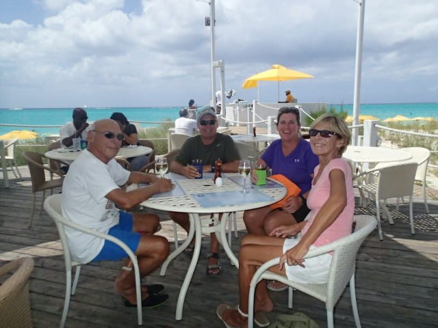 Nice restaurant on Provo in the Turks and Caicos.