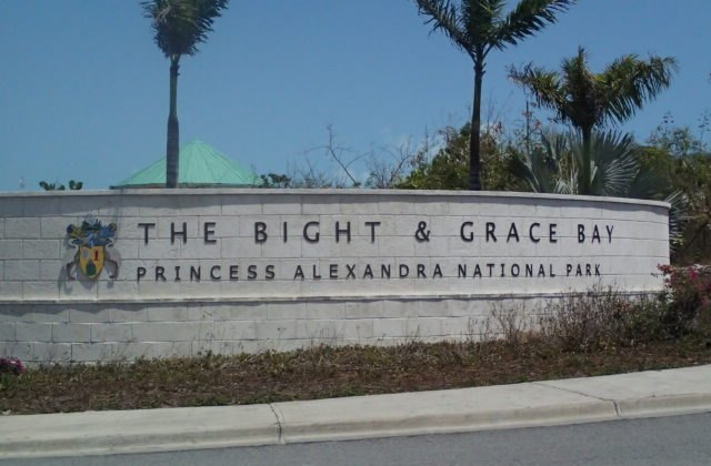 Entrance to Grace Bay on Provo in the Turks and Caicos