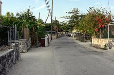 street scene after bimini scuba diving