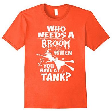 Halloween scuba diving witch tee shirt