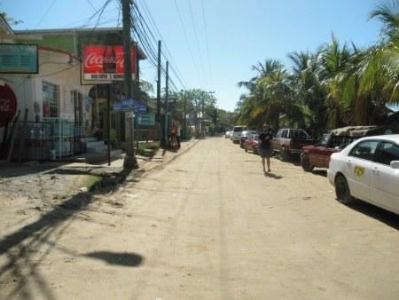 main street, west end, roatan honduras