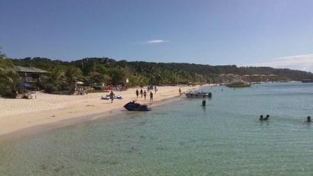 west bay beach, roatan