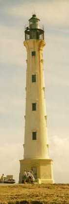 Aruba lighthous