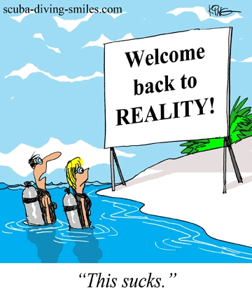 scuba diving cartoon; scuba humor