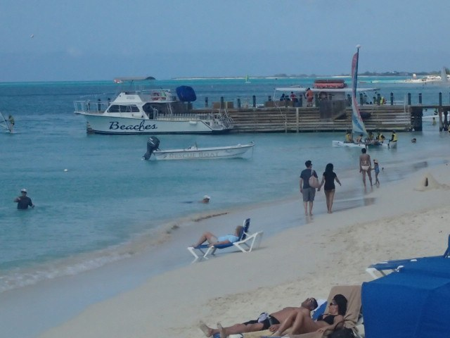 Scuba diving boats - included at Beaches Turks and Caicos