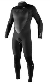 Best 3mm wetsuit - a model from O'Neill