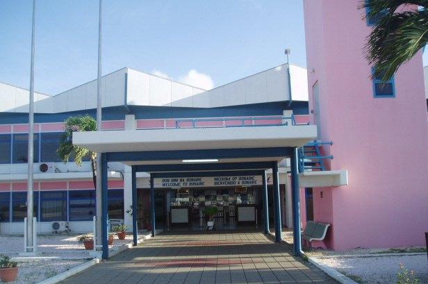 Flamingo International Airport in Bonaire