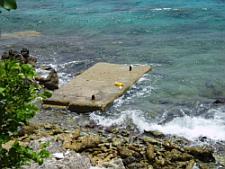 bonaire diving - karpata platform