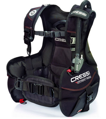 Best buoyancy compensator - entry level - A Cressi model
