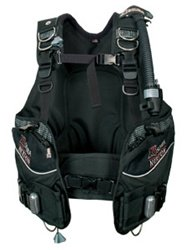 A scuba diving buoyancy compensator - BCD for short