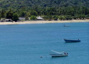 flights to tobago - water view