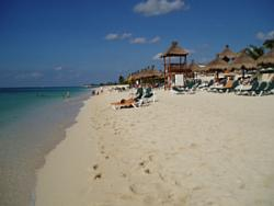 Relaxing at the Occidental Grand Cozumel, Mexico