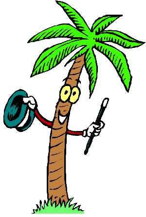 Animated palm tree clipar