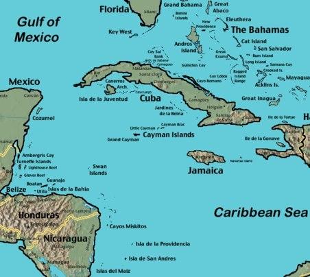 riviera maya maps - mexico