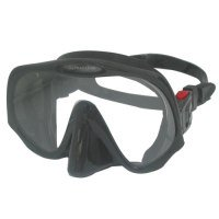 Our pick for best scuba diving mask - an Atomic model