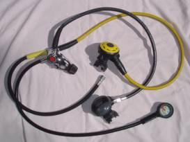 pictures of scuba gear - scuba diving regulator