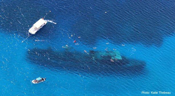 Scuba divng the USS Kittiwake off of Grand Cayman, Cayman Islands