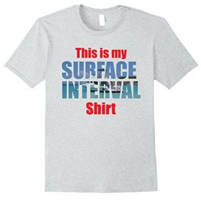 scuba diving surface interval tshirt