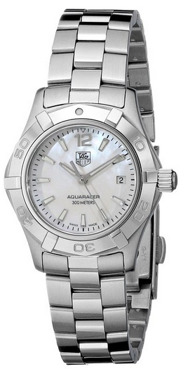 Tag Heuer women's dive watch