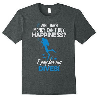 funny scuba diving tee shirt