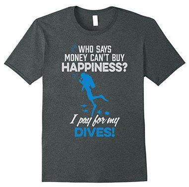 funny scuba diving tee shirt