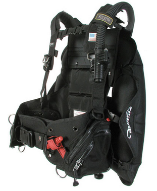 Scuba diving buoyancy compensator